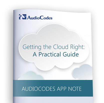 Application Note: Migrating users to Cloud PBX with AudioCodes CloudBond™ 365