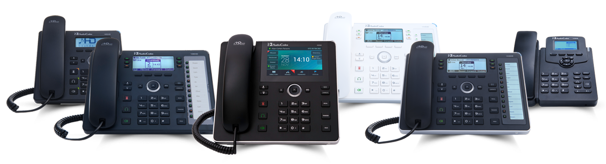 AudioCodes IP Phones for Skype for Business