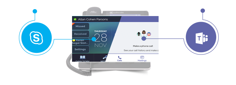 Flexibility and Investment Protection with AudioCodes 400HD Series of IP phones for Skype for Business and Microsoft Teams